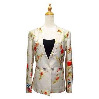 [inc 📮] Floral Slim Jacket - Size L