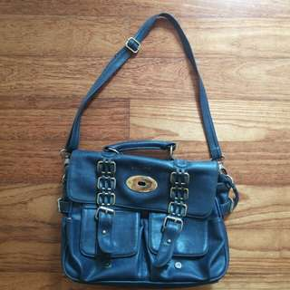 HUBSCH Dark Blue Bag
