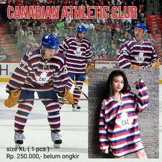 HOCKEY jersey CAC (canadian athletic club), Reebok - Indonesia #cac #hockey #club #canada