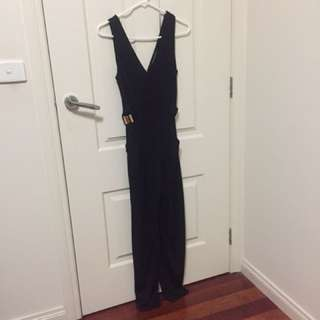 French Connection Black Jumpsuit One Piece