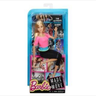 #jualmainan Barbie Made To Move