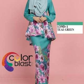 Daisy Peplum By Color Blast Closet
