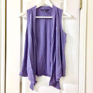 Bluenotes Soft Purple Vest
