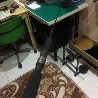 Used Viper Sinister Fishing Rod/Joran/Pancing