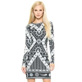 KTZ Printed Dress