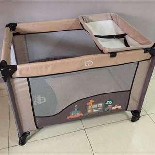 Playpen Baby Court Cot Katil Baby Crib