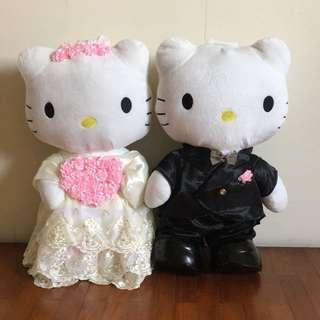 Hello Kitty 60cm Wedding Plush