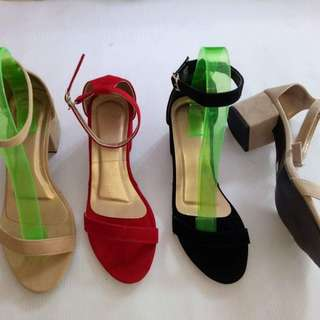 BLOCK HEELS (MADE TO ORDER)