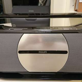 Portable Philips cd/radio/one touch cd ripping