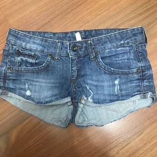 MNG denim shorts