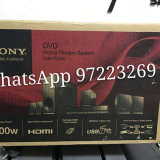 🍃🐭 ✔5. Brand new DVD  Sony Home Treatre System DAV-TZ140  thanks for your support!!!