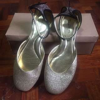 Tutum Glittered Flat Shoes