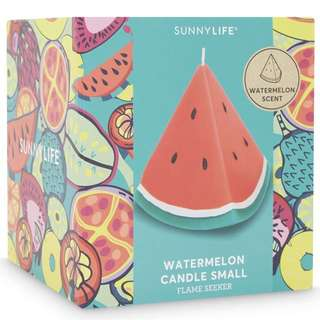 SUNNYLIFE SMALL watermelon candle