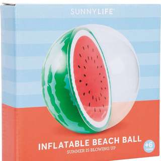 SUNNYLIFE Inflatable beach ball