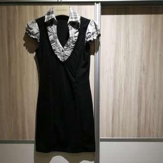 Formal V Neck dress