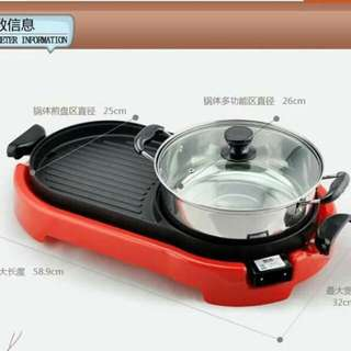 2in1 Electric BBQ Grill