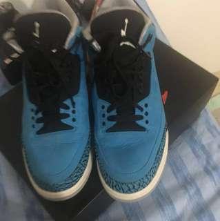 Jordan 3 Powder blue