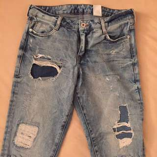 H&M Distressed Jeans