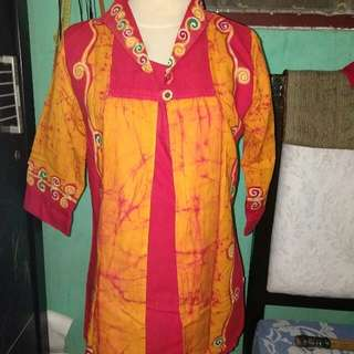 Ethnic batik handmade