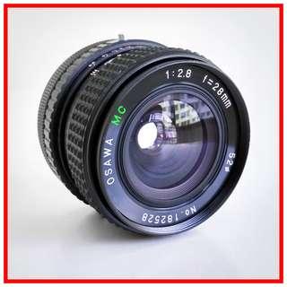 Osawa FD 28mm F2.8 Manual Lens (Canon FD mount)
