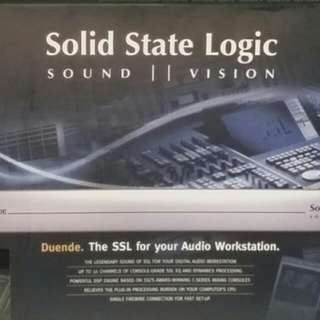 Solid State Logic Duende(Sleek Silver Box)