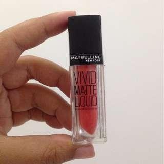Maybelline Vivid Matte Liquid shade: MAT5