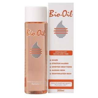 Bio Oil for stretch marks and scars