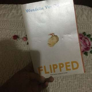 FLIPPED NOVEL with bonus material inside!