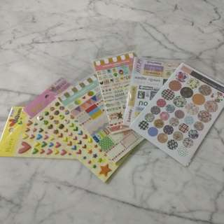 (total value $13.90) Scrapbooking value pack 24 sheets stickers