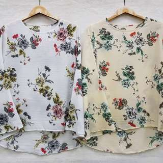 Blouse Flowers 🍓