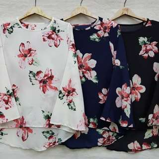 Blouse Flowers🍓
