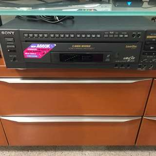 Mint condition Sony LD player