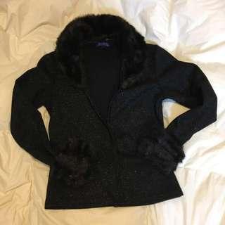 #11flashsale Petite 黑色外套 Petite Sweater