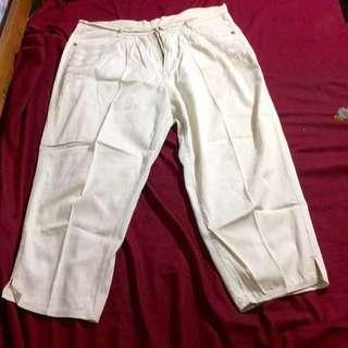 Bigsize 34/35 putih gading freeong jabodetabek!!!!