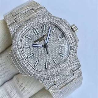 patek philippe nautilus diamond watch