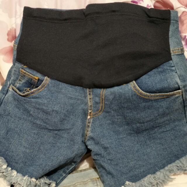 孕婦短褲(二手)