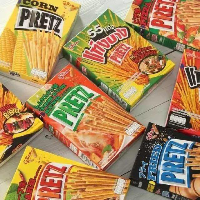 泰國限定 PRETZ 百力滋 餅乾棒