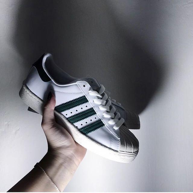 Adidas Superstar森林綠🌲