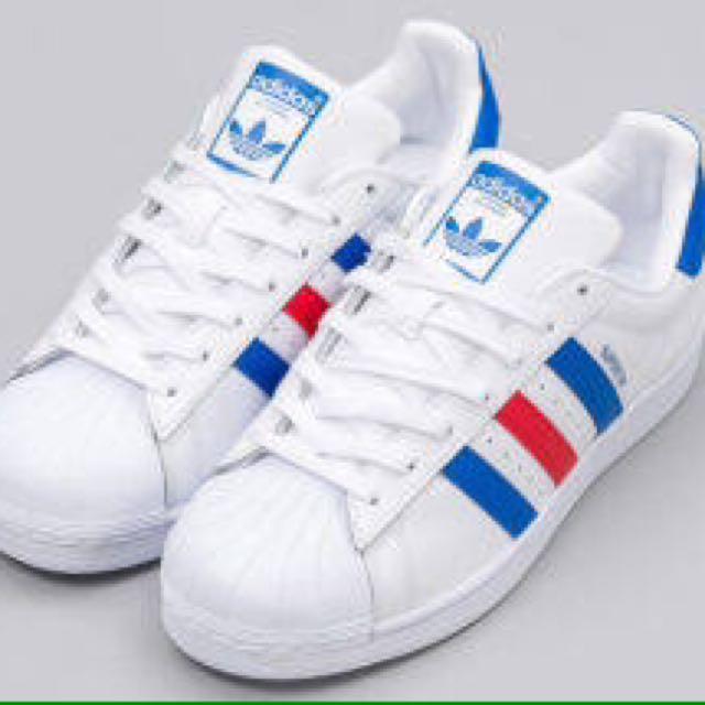 Adidas superstar tri color