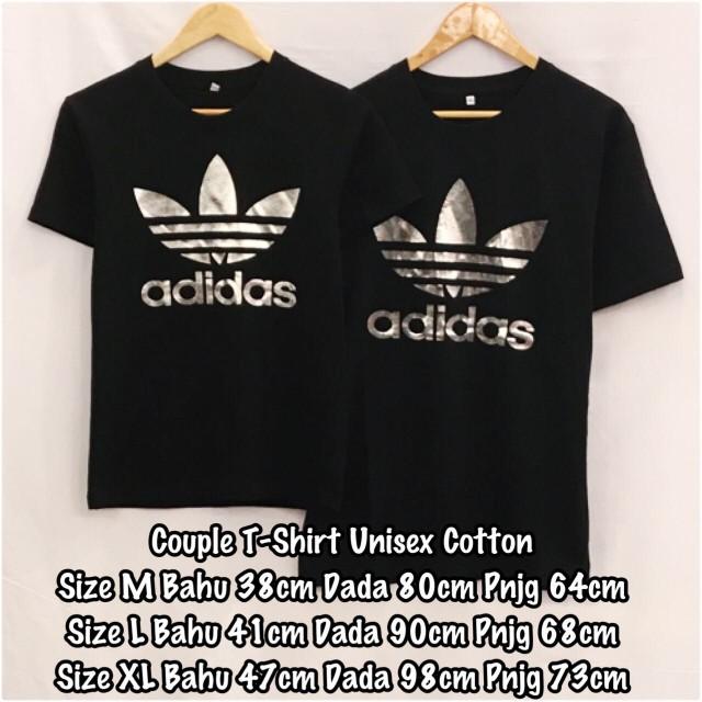 Cotton T Adidas Shirt Couple Unisex vyn0wOmN8