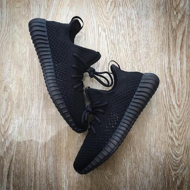 finest selection 4a797 a13f4 Adidas Yeezy 350 v2 'Triple Black'
