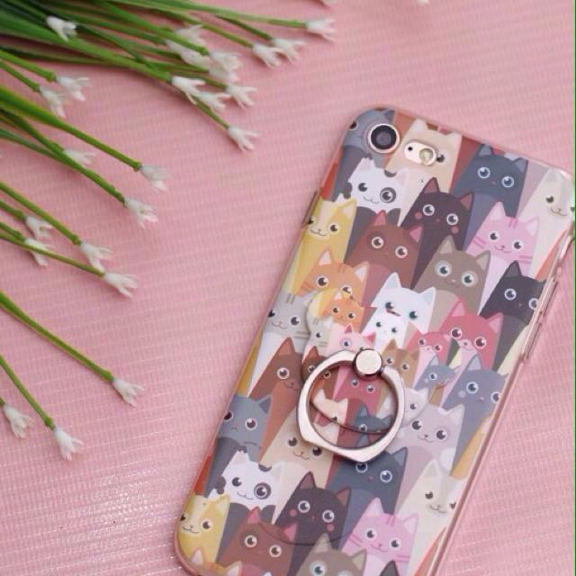 ANIMAL BABY SOFT CASE WITH RINGS