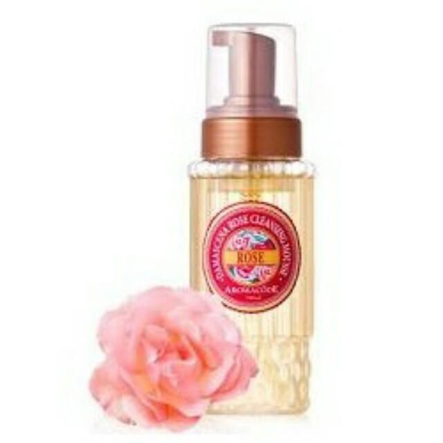 ARWIN雅聞 香氛密碼 大馬士革玫瑰氨基酸洗卸二用慕絲250ml