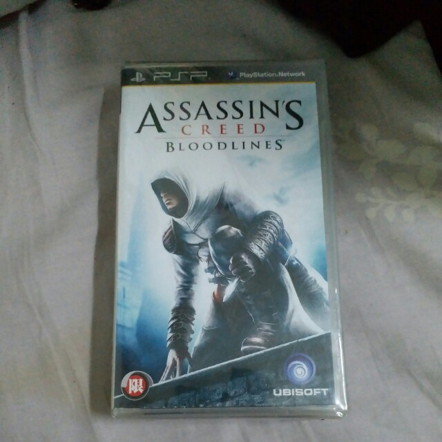 Assassin S Creed Bloodlines Psp Game Video Gaming Video Games On