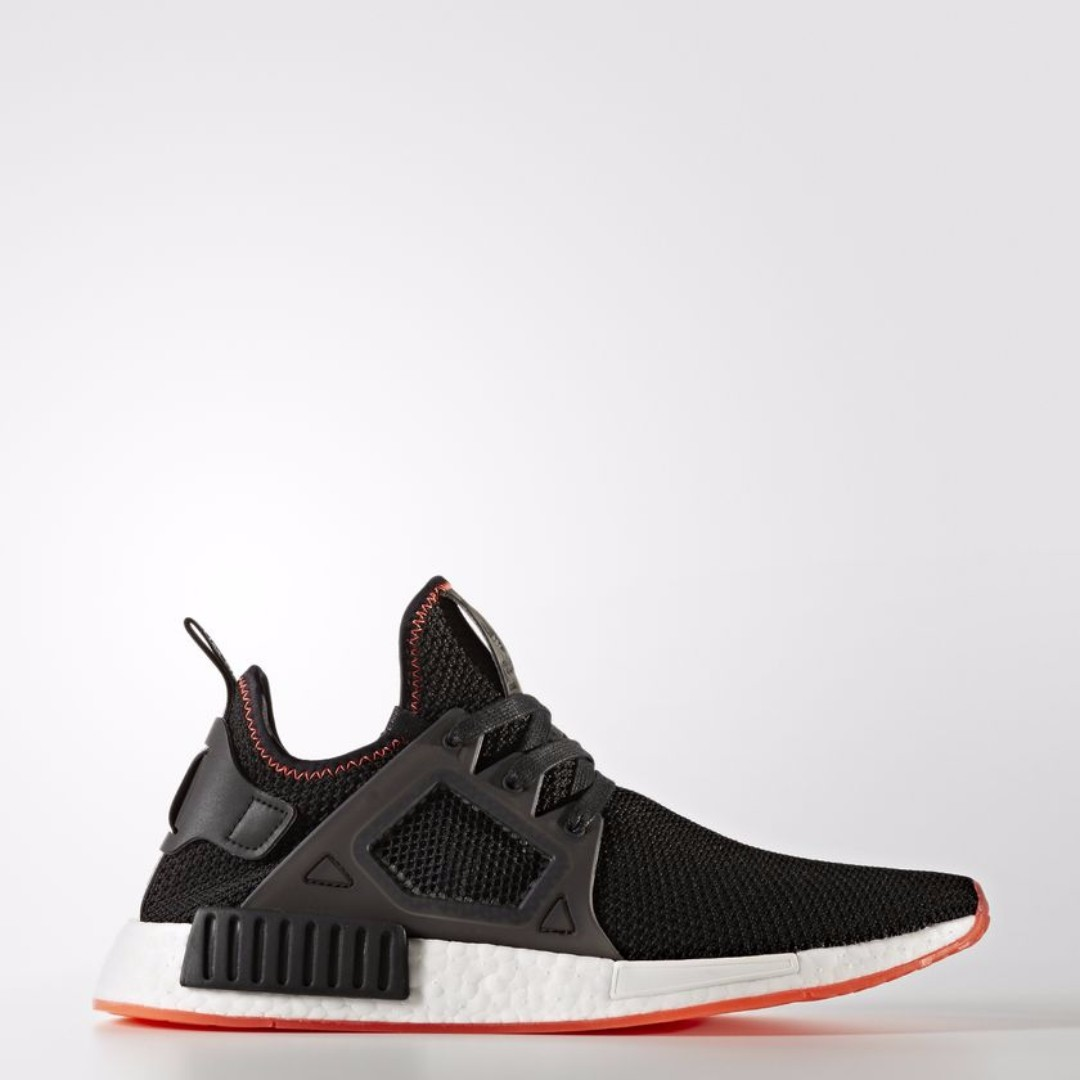 94ce363545c83 Authentic Adidas NMD XR1 Bred Core Black Core Black Solar Red