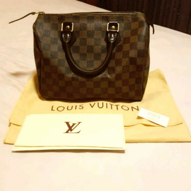 6434041f7ec0 AUTHENTIC Louis Vuitton SPEEDY 25 (comes w original LV receipt ...