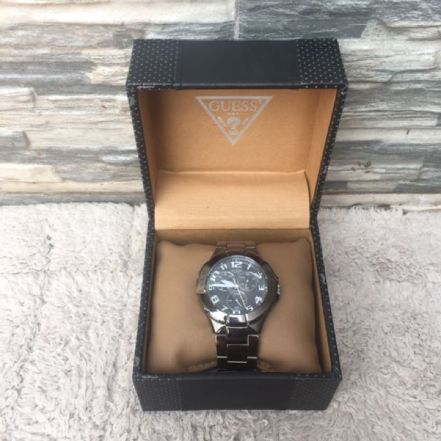 Authentic Man Steel Watches by Guess