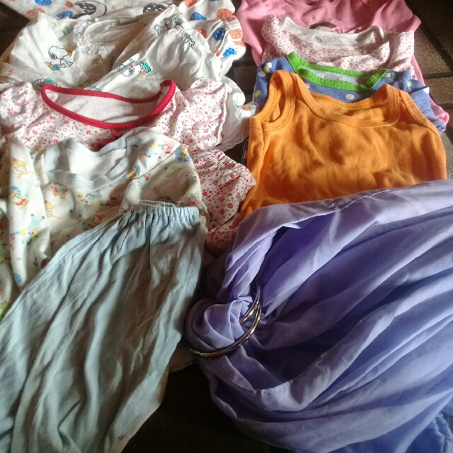 baju baby 4 month/9 month take all