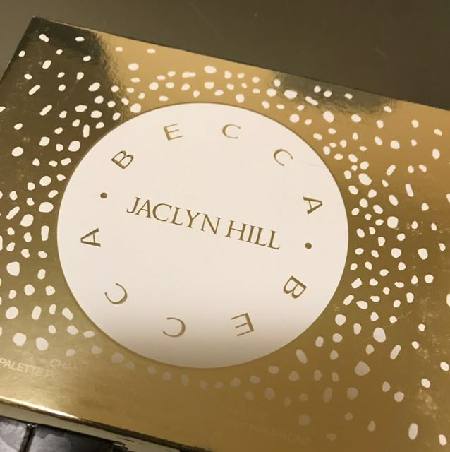 Becca Jacklyn Hill champagne collection face palette