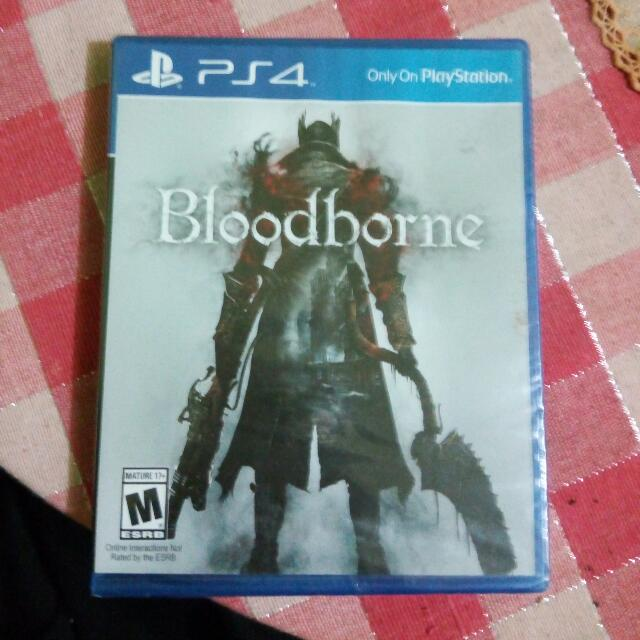 Bloodborne Murah! 1000% Original Dan Baru